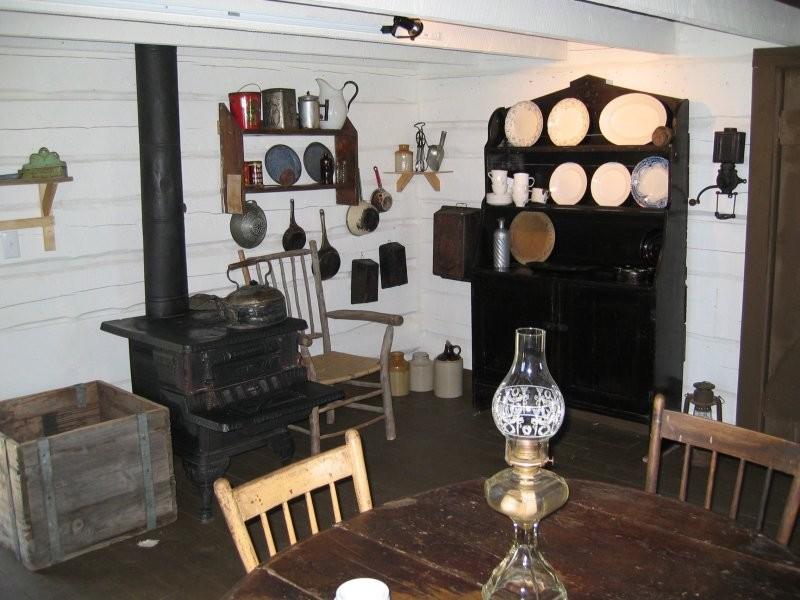 Bachelor Cabin interior