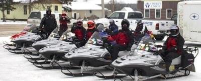 Big River - Snowmobiling