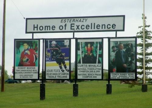 Esterhazy Board of Excellence