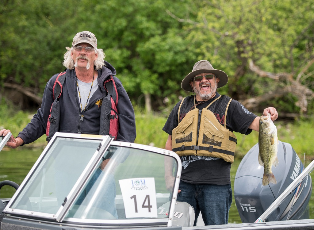 Fishing near Estevan