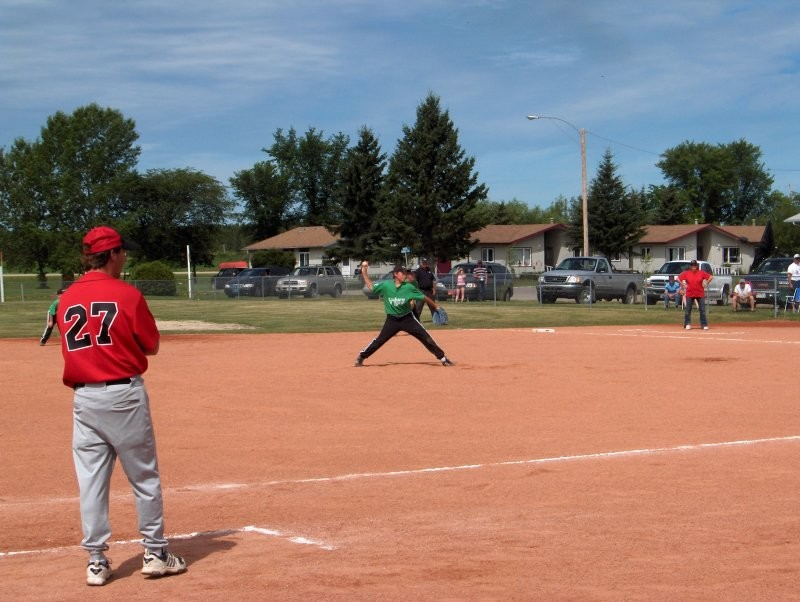 Shale Baseball diamonds - Hudson Bay's  new shale diamonds have enabled us to host provincial ball events