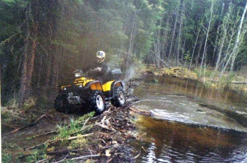 ATVing - There are hundreds of miles of abandoned logging roads and old hunting trails that provide a scenic ride or an exciting challenge