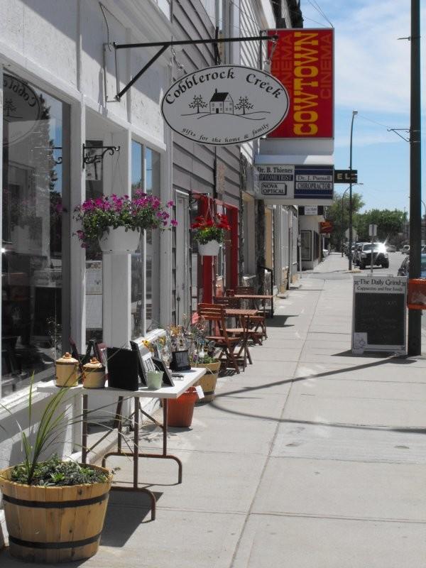Maple Creek - Downtown Shopping