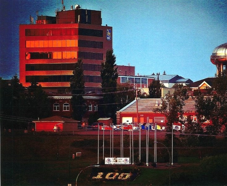 North Battleford - Downtown and Tower