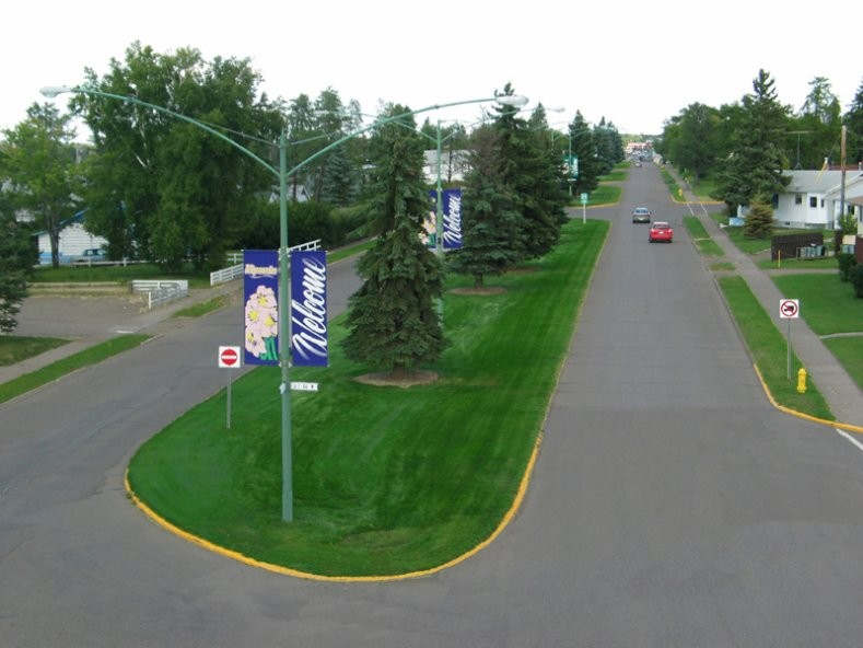 Nipawin - Main Street View