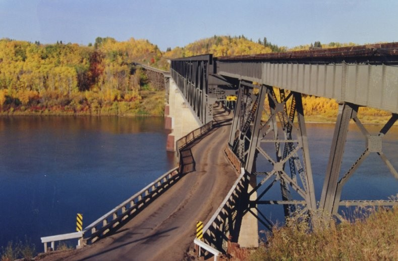 Nipawin - The Old Bridge
