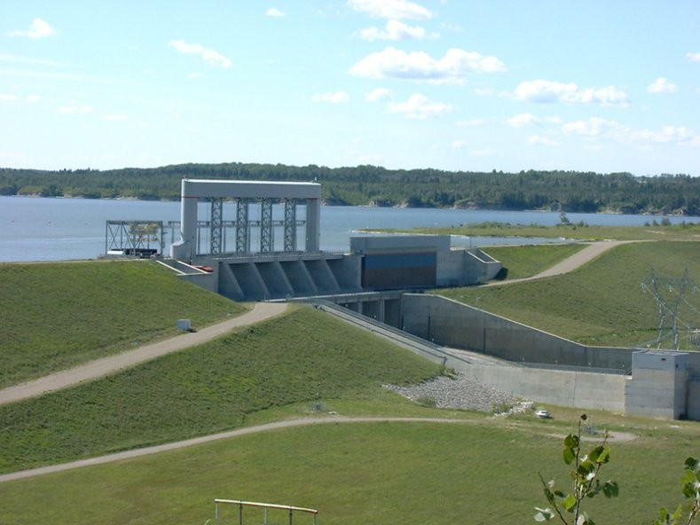 Nipawin - Francois Finlay Hydroelectric Dam Vista Viewpoint