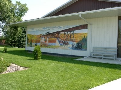 Nipawin - One of the many Murals