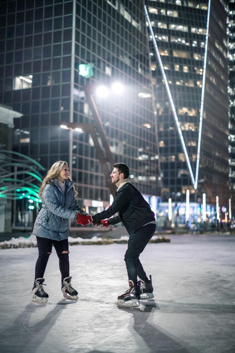 Regina - Winter fun at City Square Plaza