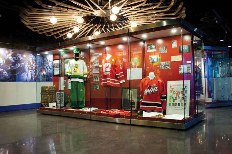 Saskatchewan Hockey Hall Of Fame, Credit Union i-Plex, Swift Current, Saskatchewan, Canada