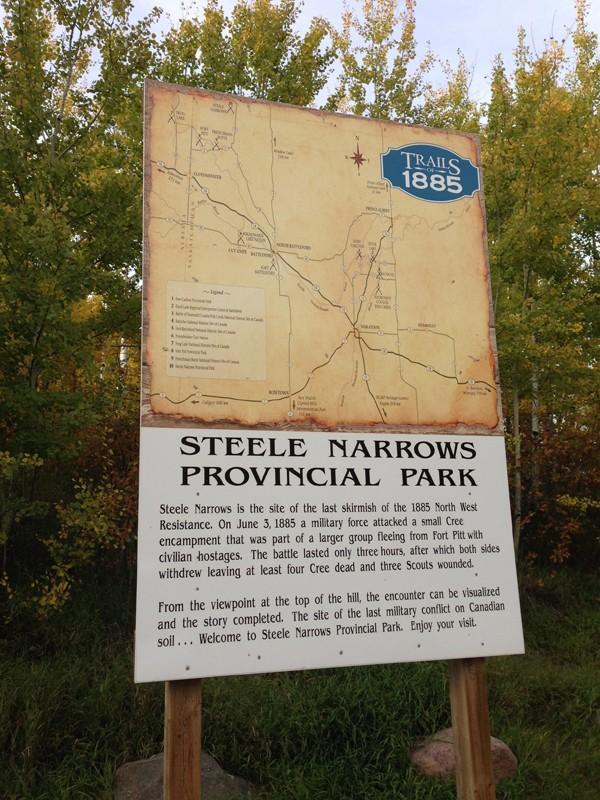 Steele Narrows Provincial Park