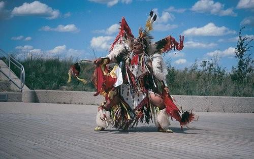 Wanuskewin Heritage Park - First Nations Dancer