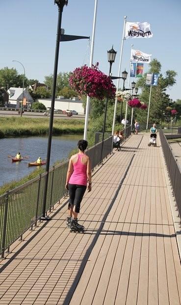 Weyburn boardwalk is one stop along the Tatagwa Parkway trail system