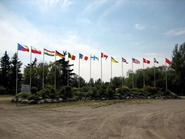 Whitewood Multicultural Flag Garden