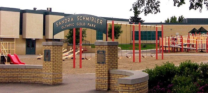 The Sandra Schmirler Olympic Gold Park